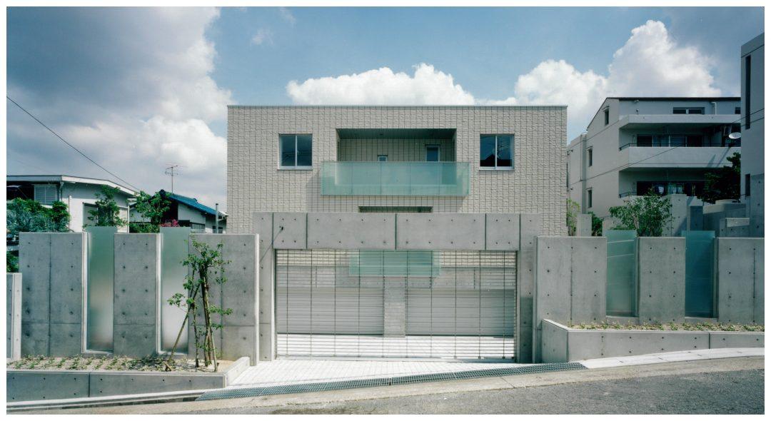 清潔感溢れる外観の外断熱の家